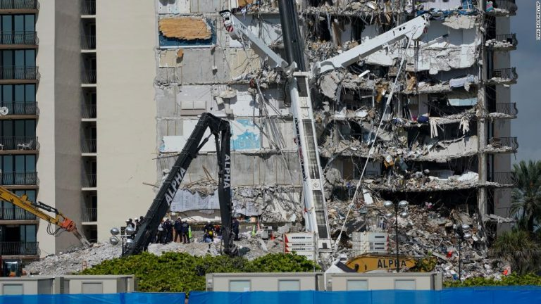 The 7-year-old daughter of Miami fire department employee among Surfside building collapse victims