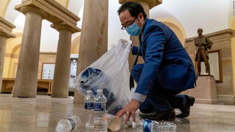 Andy Kim: Lawmaker donates suit he wore to clean up Capitol riot to Smithsonian, 6 months after deadly insurrection