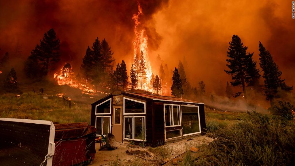 Wildfires 2021: 80 large fires have consumed more than 1 million acres across western parts of the US