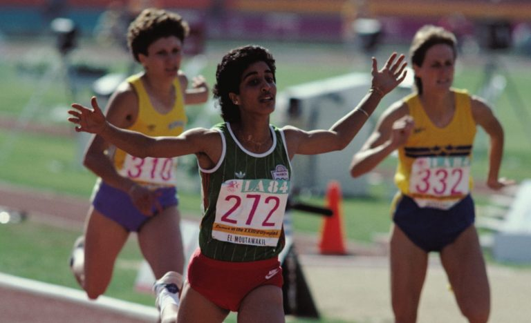 The first Moroccan to win Olympic Gold