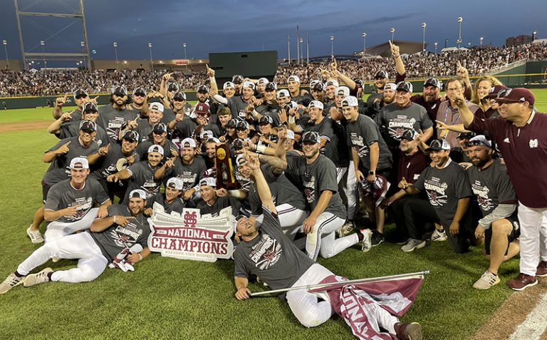Mississippi State wins 9-0, captures first team national title