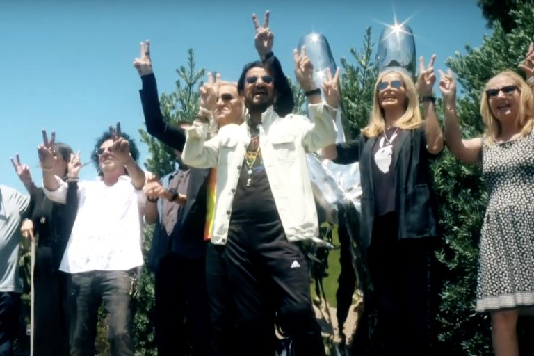 Watch Ringo Starr, Fans Celebrate Peace and Love on His 81st Birthday