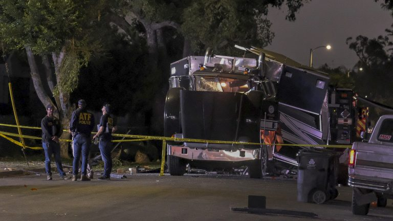 Illegal Fireworks Explode In Los Angeles Bomb Squad Truck, Hurting 17 : NPR