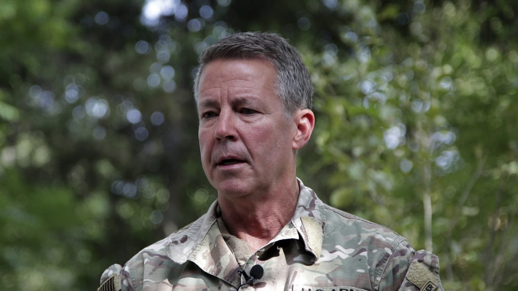 The Top U.S. Commander In Afghanistan Has Relinquished His Post : NPR