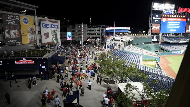 4 Wounded In Shooting Outside D.C. Stadium During Nationals-Padres Game : NPR