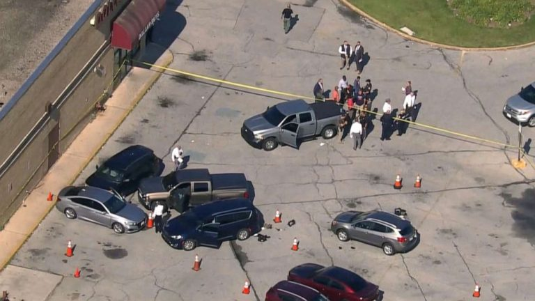 2 Baltimore police officers shot