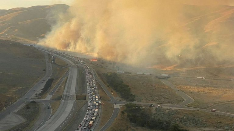 Evacuations ordered as Tumbleweed Fire spreads in Southern California