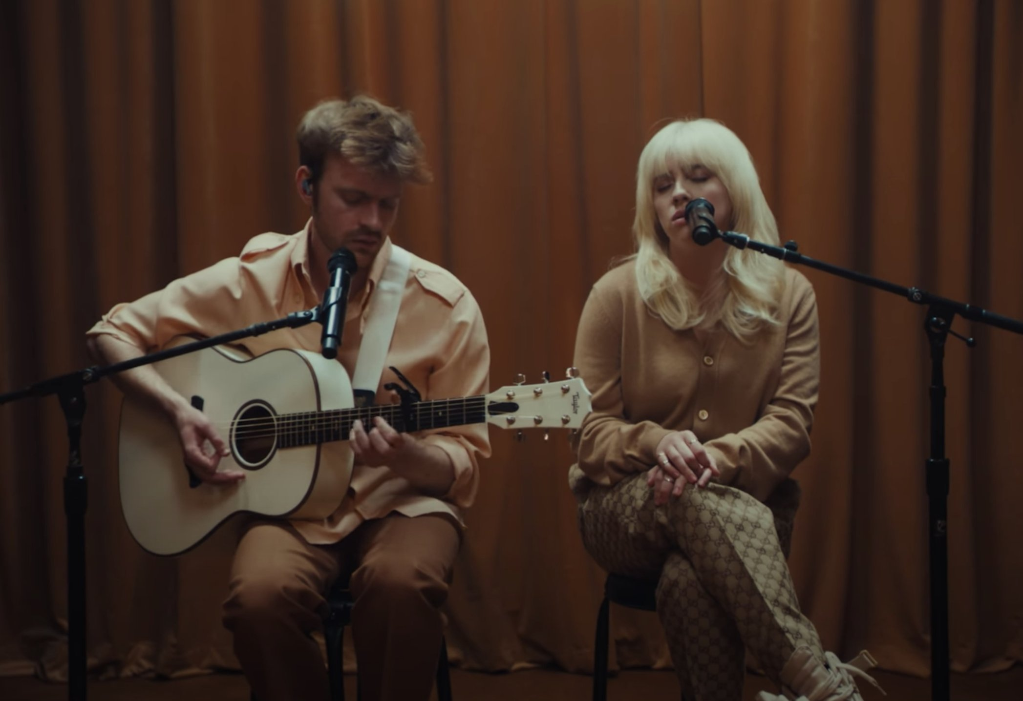 See Billie Eilish, Finneas Perform Acoustic Live Take on 'Your Power'
