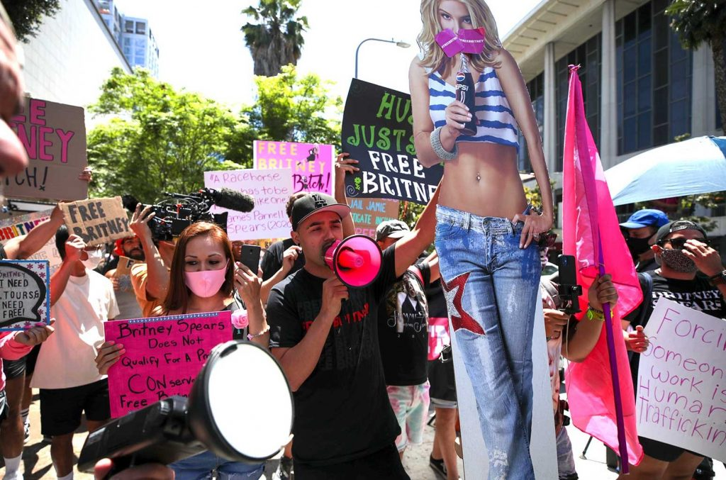 Britney Spears supporters