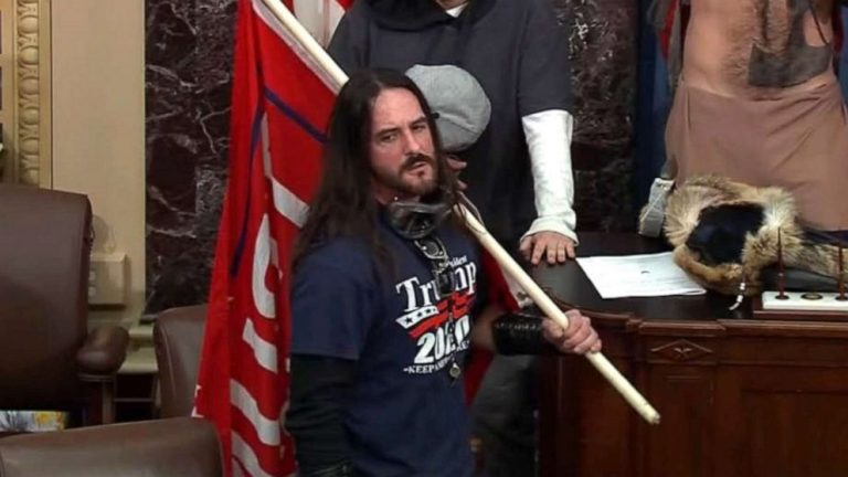 Capitol rioter to serve 8 months in prison in 1st felony sentencing from Jan. 6
