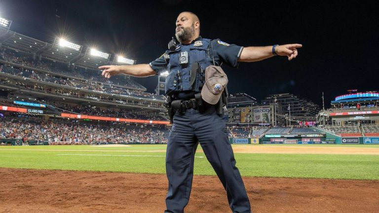Washington Nationals game halted after shooting outside park, fans told to leave