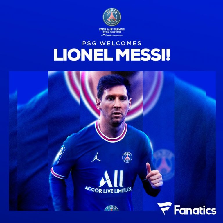 PSG got Lionel Messi, so it's time to gear up for fans