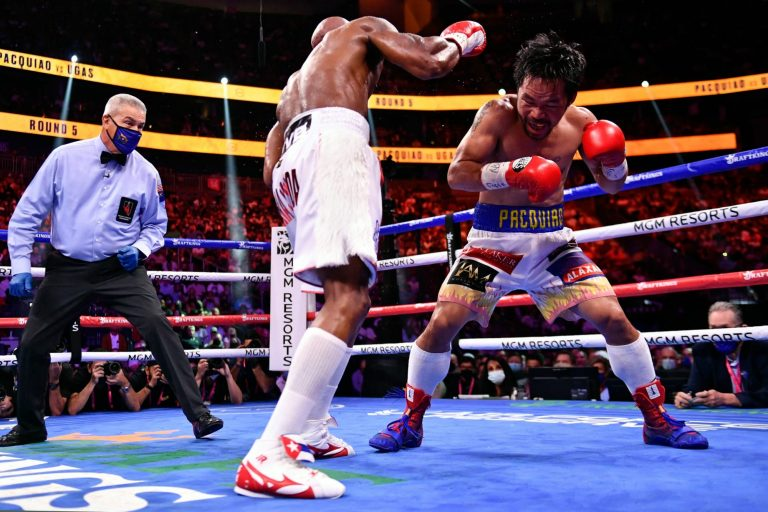 Twitter reacts to Yordenis Ugas upsetting, edging out Manny Pacquiao