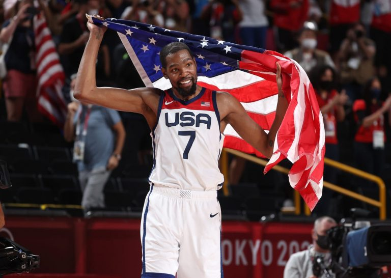 Kevin Durant is Captain America for Team USA in Gold Medal Game