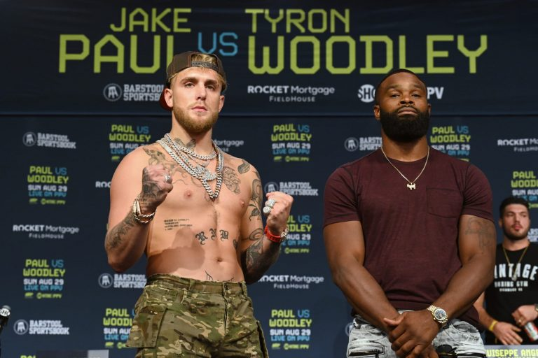 Jake Paul and Tyron Woodley negotiate rematch if Woodley gets tattoo