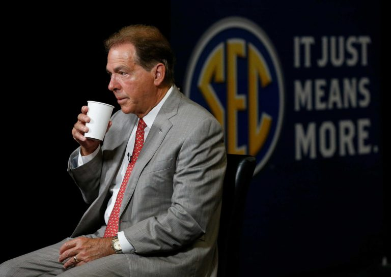 Nick Saban speculates fans will need the vaccine to attend games