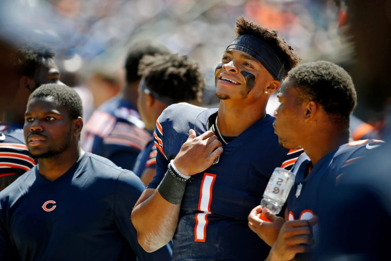Justin Fields reaction to his Bears debut will fire up fans