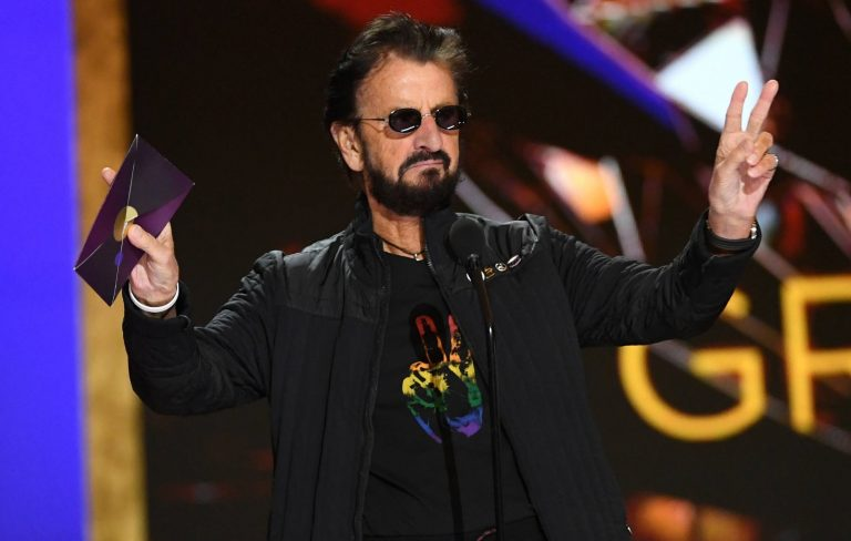 Ringo Starr announces new EP 'Change the World', releases lead track