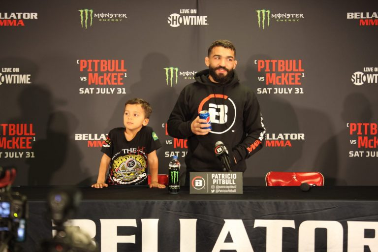 Patricio 'Pitbull' Freire classy in defeat, teaches son life lessons after loss