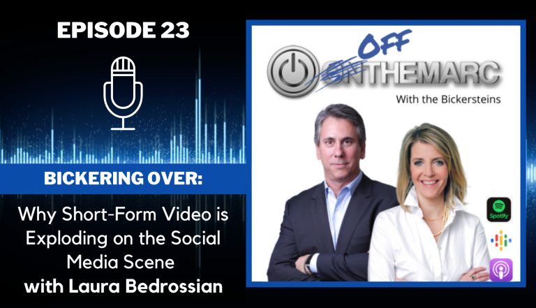 Bickering Over: Why Short-Form Video is Exploding on the Social Media Scene - with Laura Bedrossian