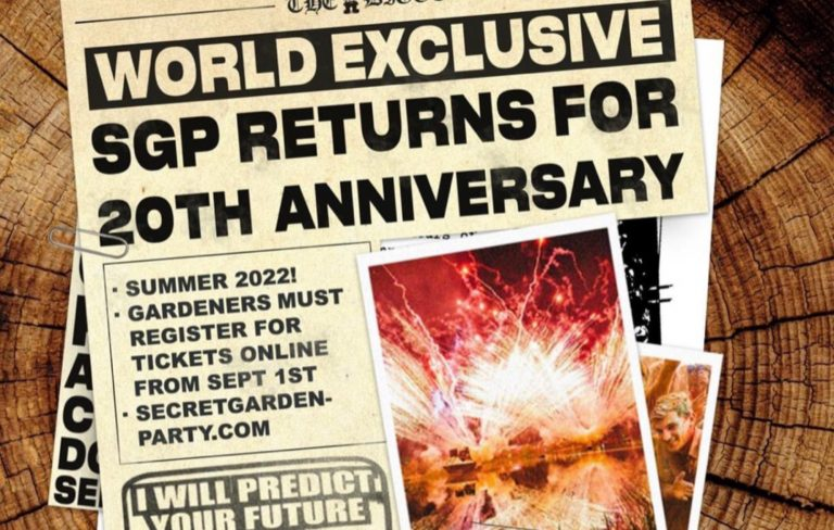 Secret Garden Party set to return for its 20th anniversary
