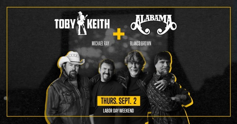 Toby Keith and Alabama To Kick Off Labor Day Weekend via Encore Nights Concert Event