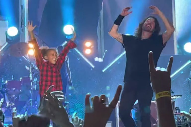 Foo Fighters Joined by Viral Drumming Star Nandi Bushell