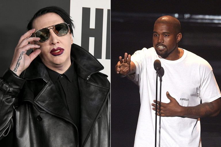Marilyn Manson's Voice Is Featured on Kanye West's 'Donda' Album