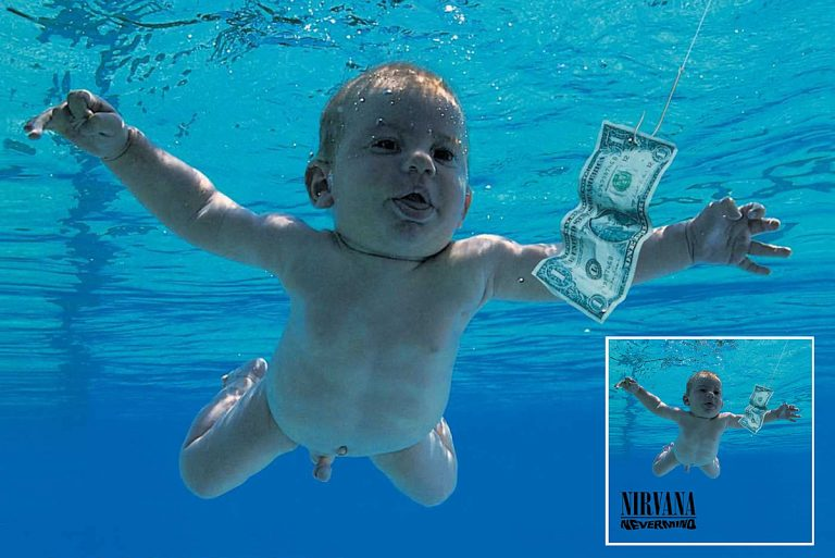 'Nevermind' Cover Baby Suing Nirvana for 'Child Pornography'