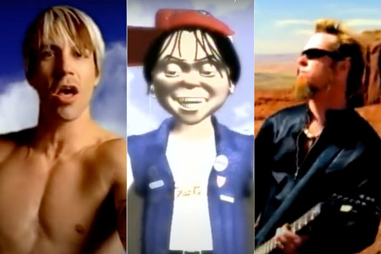 10 Most Dated Rock + Metal Videos