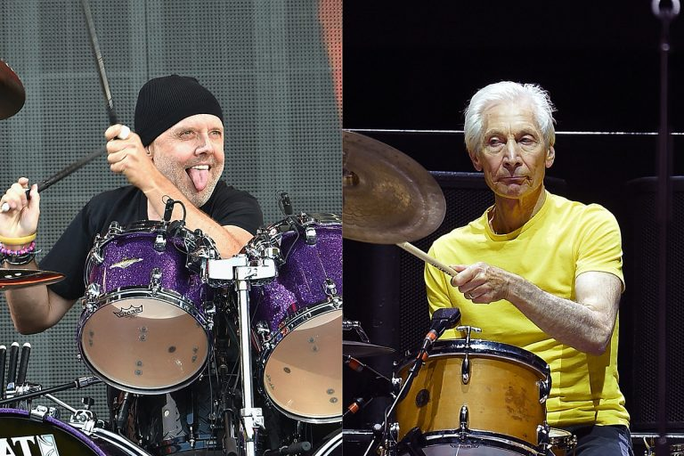 Lars Ulrich Honors Charlie Watts, Says His Death Is End of an Era