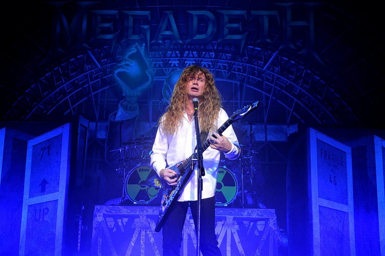 Dave Mustaine Shares Video of Megadeth Album's 'Last Vocal Take'