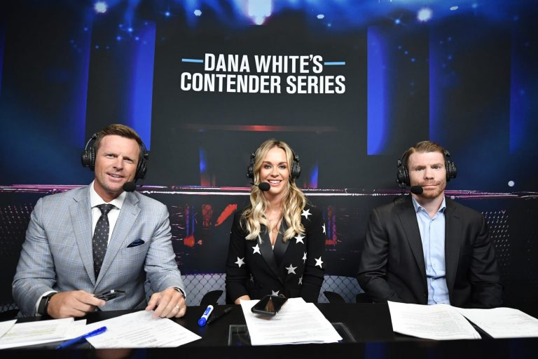 MMA Twitter is swooning over Laura Sanko on DWCS commentary