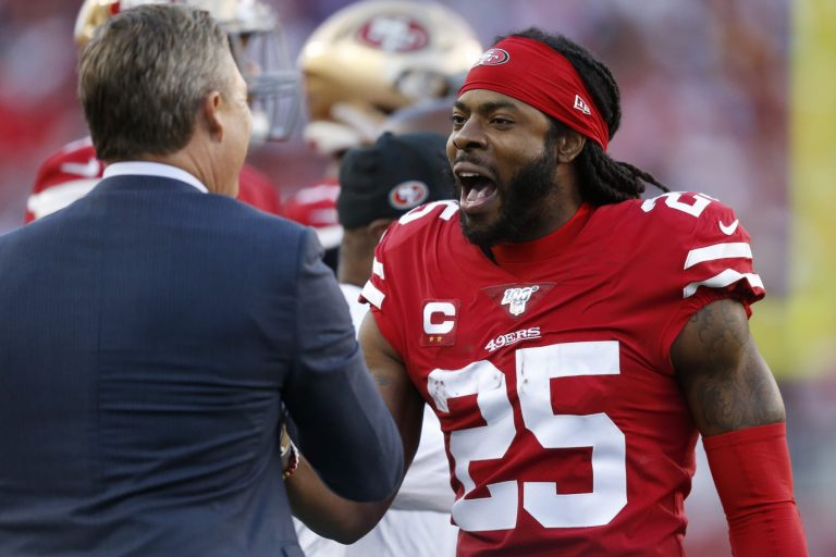 John Lynch comments on 49ers possibly signing Richard Sherman
