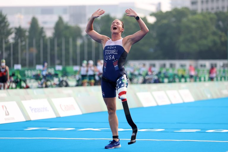 Melissa Stockwell gained a special Iraqi friend at the Paralympics