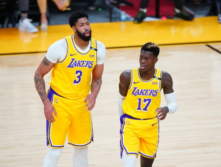Anthony Davis was reportedly frustrated with Dennis Schröder last year
