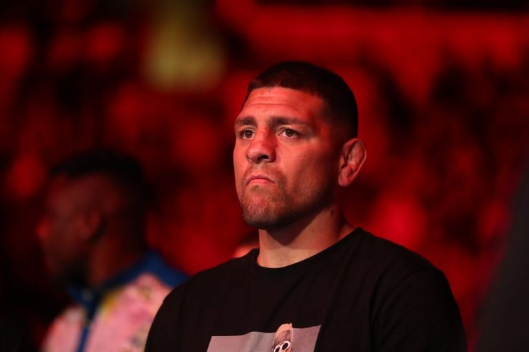 What time does Nick Diaz fight?