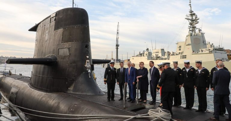 In Submarine Deal With Australia, U.S. Counters China but Enrages France