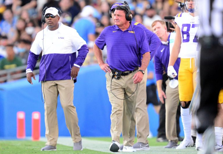 How much is Ed Orgeron's buyout?