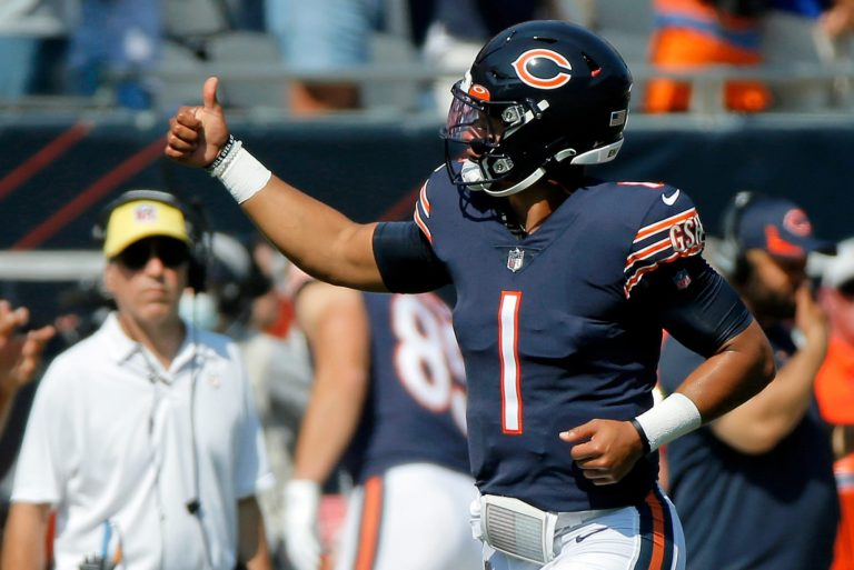 Justin Fields to start Week 3 for the Bears vs. the Browns