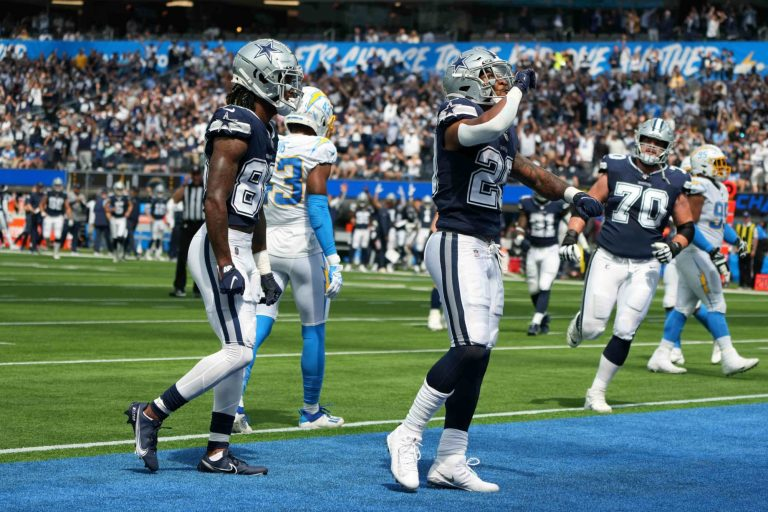 Cowboys almost scored insane touchdown against Chargers at end of half