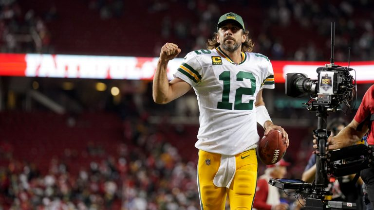 Aaron Rodgers says Packers big win over 49ers was a 'rough night' for critics