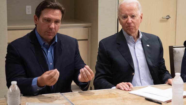 Biden's Efforts To Shame DeSantis Into Helping Vaccine Push Appear To Have Failed