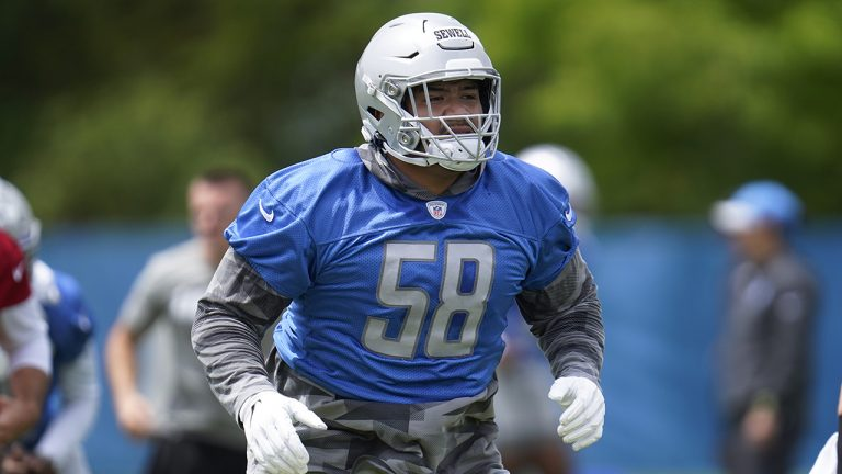 Lions' Penei Sewell rookie's struggles nothing to worry about, GM Brad Holmes says