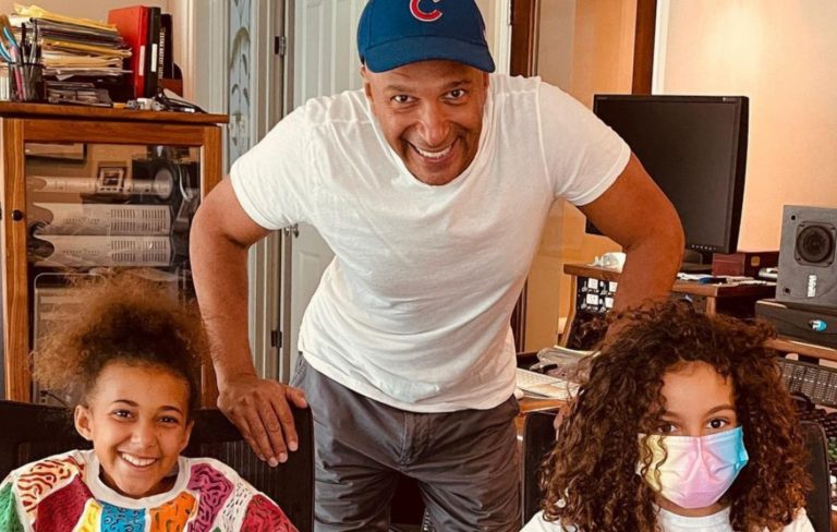 """Nandi Bushell jams with Tom Morello and his son to write """"epic"""" new song"""