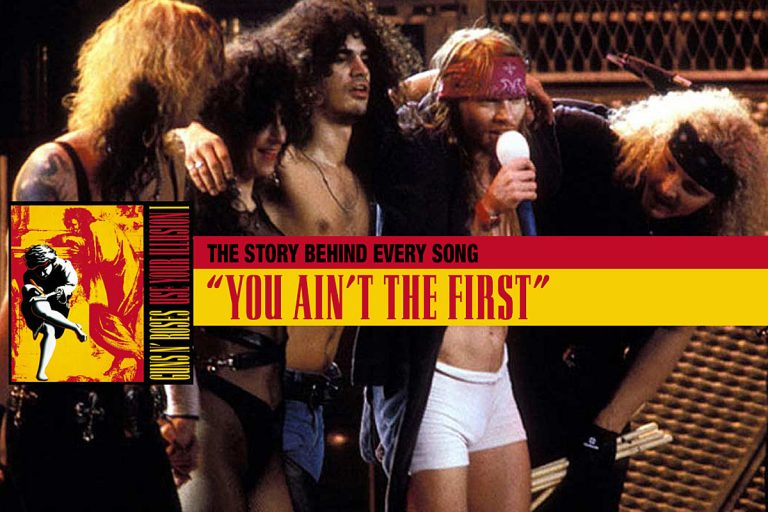 'You Ain't the First' Became Guns N' Roses' 'Drunken Pirate Song'