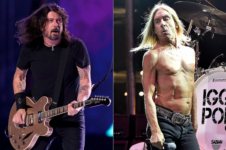 When a Pre-Fame Dave Grohl Played Drums With Iggy Pop