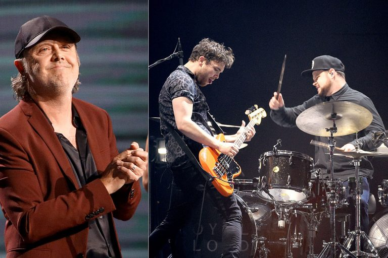 Lars Ulrich's 'Whole Family Fell in Love With Royal Blood'