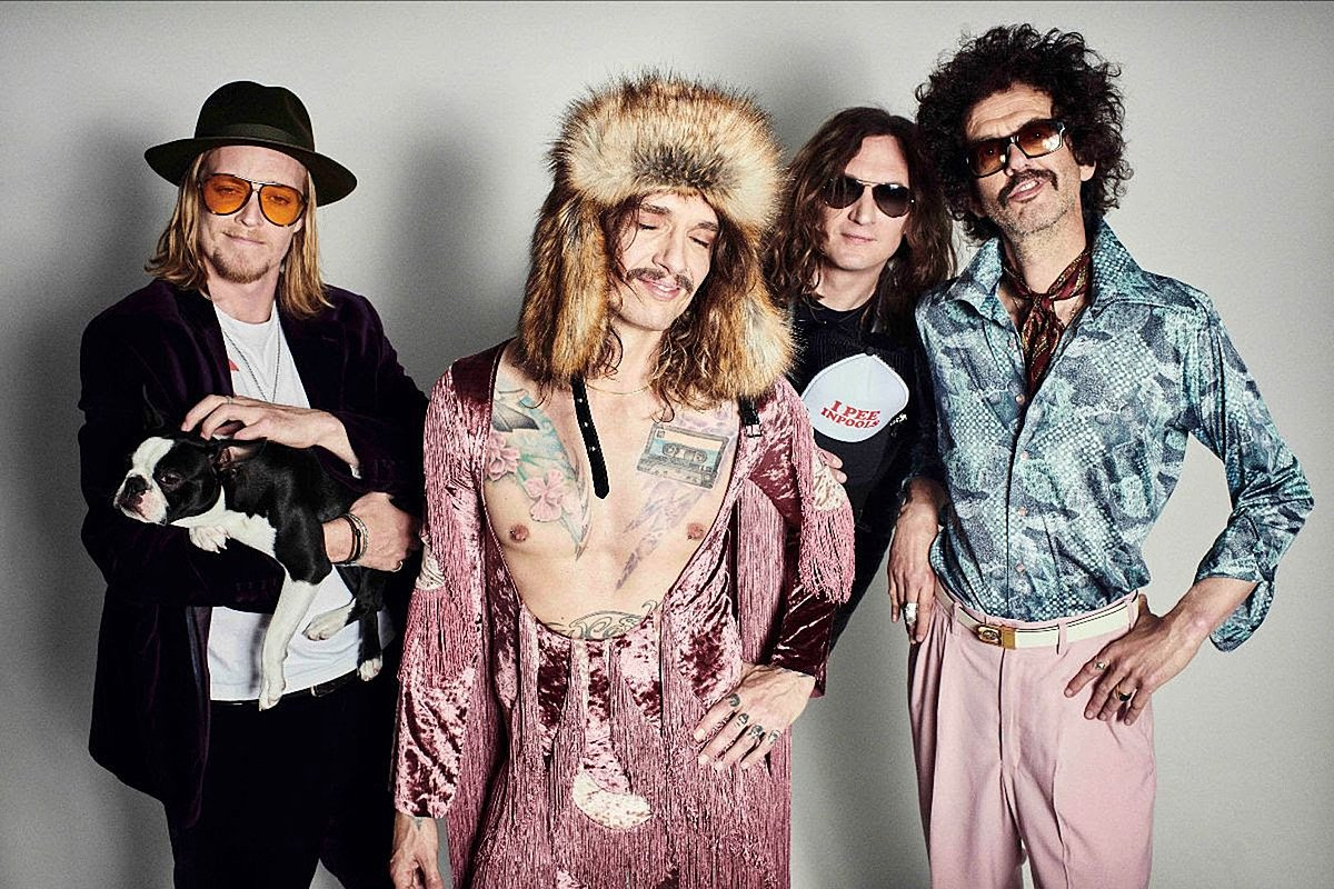 """The Darkness Reveal New Single """"Jussy's Girl"""""""