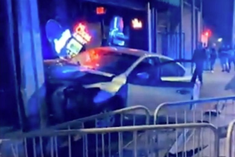 Car Crashes Into Venue During From Ashes to New Concert